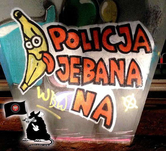 policja je banana