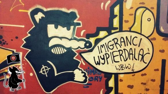 Imigranci wypierdalac